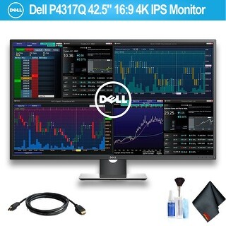 """Dell 42.5"""" 16:9 4K IPS Monitor With HDMI Cable"""