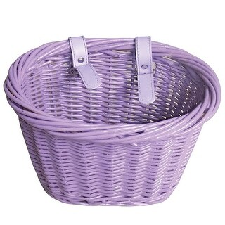 Evo E-Cargo Wicker Jr. Bicycle Handlebar Basket - HT-WK-013