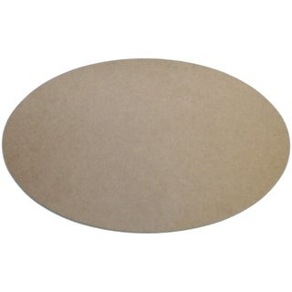 "MDF Plaque-Oval 7.75""X12.5"""