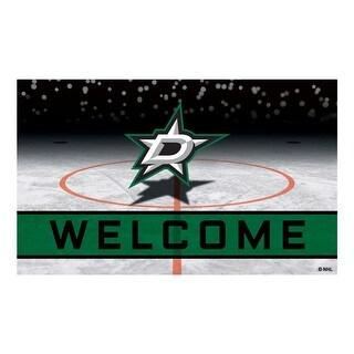 NHL Dallas Stars Heavy Duty Crumb Rubber Door Mat N A