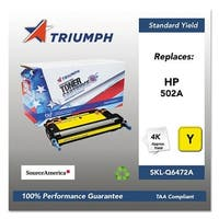 Triumph Remanufactured 502A Toner Cartridge - Yellow Toner Catridge