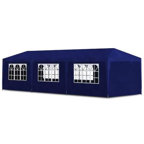 vidaXL Party Tent 10'x30' Blue