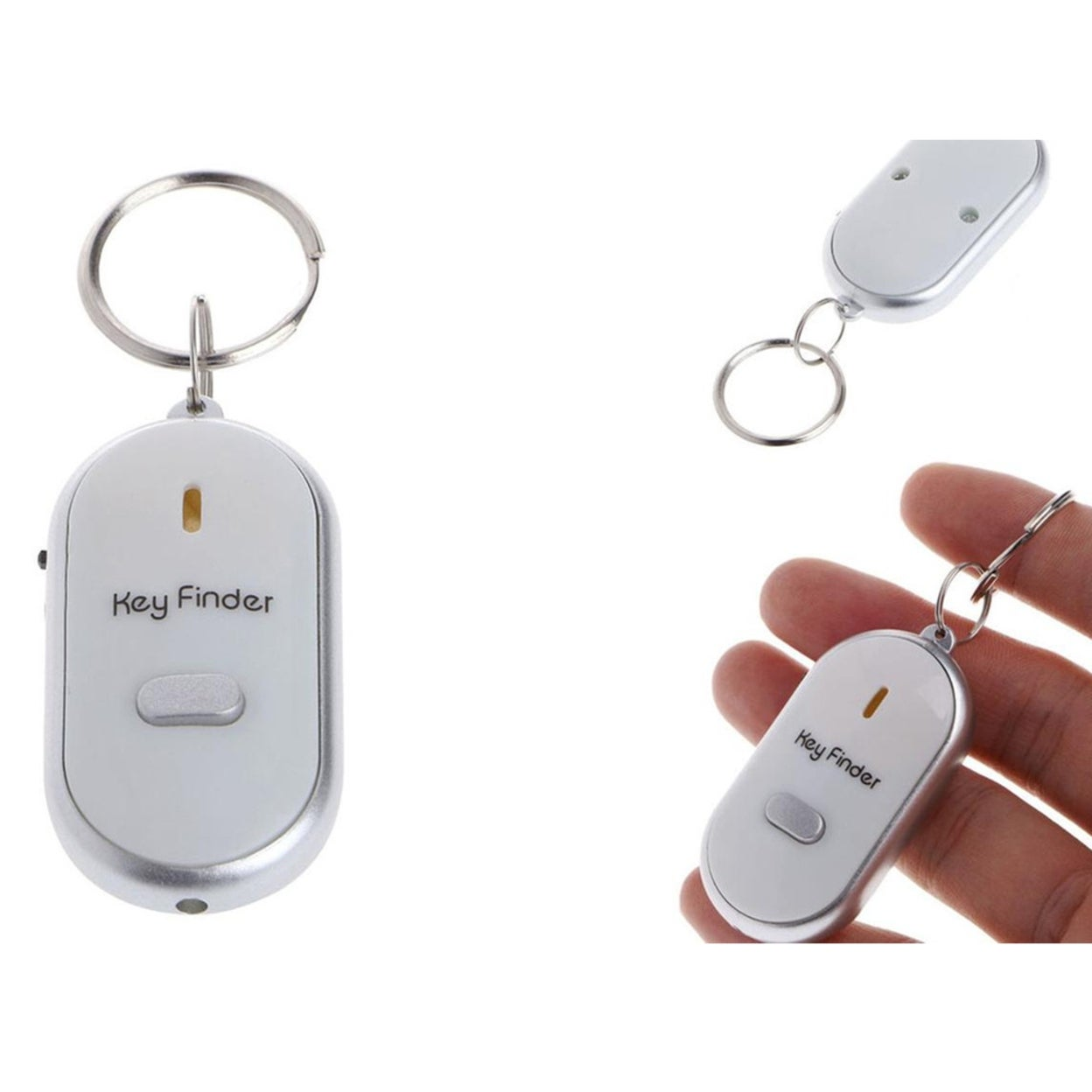 Shop Brand New Locator Tracker Lost Keys Finder Whistle Sound Control On Sale Overstock 31824039