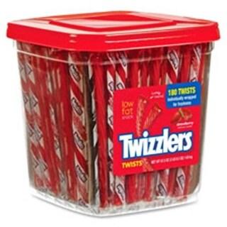 Hershey HRS51922 Twizzlers Strawberry Twists, 180 Per Box