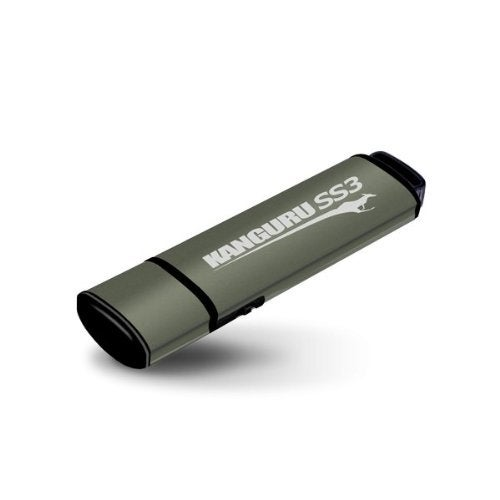 Kanguru Ss3 Usb 3.0 Flash Drive With Physical Write Protection Switch (Kf3wp-64G)