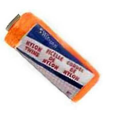 Wellington 46302 Twisted Twine, #18, 525', Nylon, Orange
