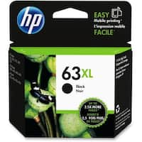 HP 63XL 40-ml Black DesignJet Ink Cartridge (F6U64AN)(Single Pack)