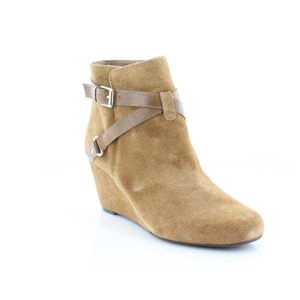 Isaac Mizrahi Live! Kast Women's Boots Hazelnut