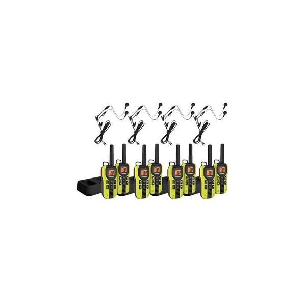 Uniden GMR4060-2CKHS (8-pack) FRS/GMRS Radios w/ Headset & Backlit Display