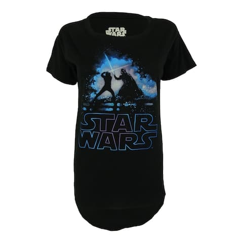 Star Wars Juniors' Short Sleeves Tee - Black