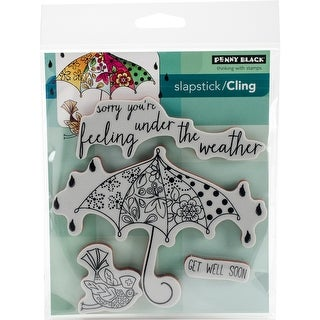 "Penny Black Cling Stamp 5""X7"""