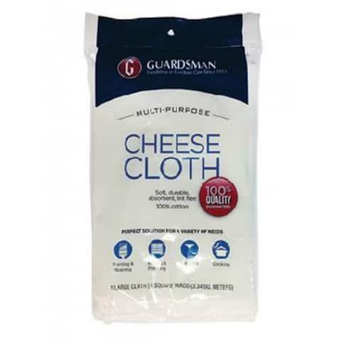 Guardsman 004012 Multi Purpose Cotton Cheese Cloth, 4 Sq Yd