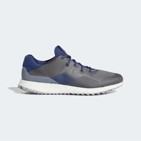 New Adidas Crossknit DPR Golf Shoes Metal Grey/Grey/Tech Indigo EE9132 (MED)