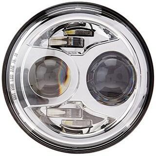 """JW Speaker 8700 Evolution 2 - 7"""" Round LED Headlight - Chrome - White"""