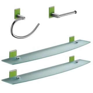 Nameeks MNE1419 Gedy Bathroom Accessories Set (Option: Orange Finish)