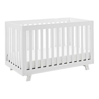 Link to Storkcraft Beckett 3-in-1 Convertible Pine Wood Crib with Adjustable Height Mattress and Converts to Toddler Bed & Day Bed Similar Items in Kids' & Toddler Furniture