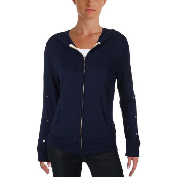 Monrow Womens Sweatshirt Knit Casual