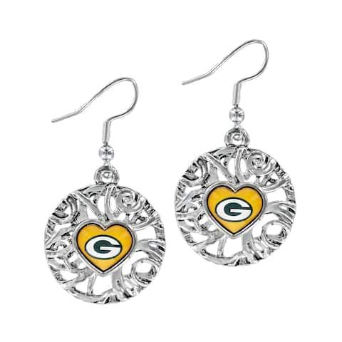 Green Bay Packers Grace Ivy Earrings - Multi
