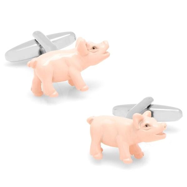 Mise en Place Pig Cufflinks