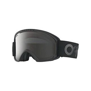 Oakley OO7045-24 O2 XL Eyewear, Factory Pilot Blackout, Dark Grey Lens - factory pilot blackout