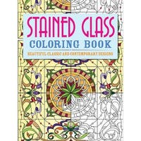 Chartwell Books-Stained Glass Coloring