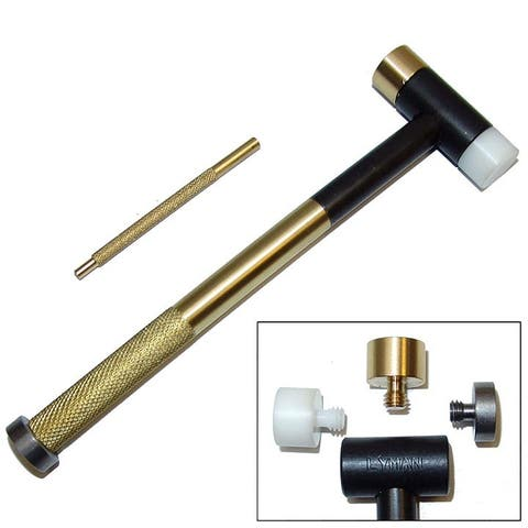 Lyman 7031290 lyman brass tapper hammer