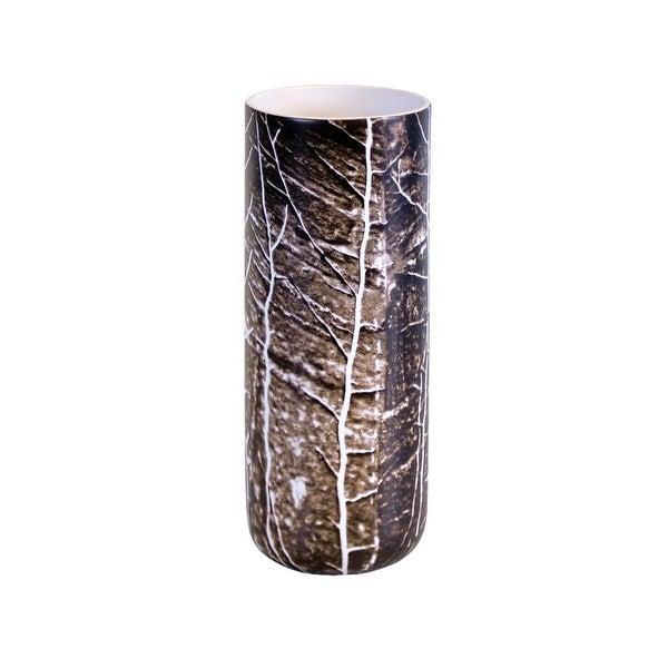 "Design Toscano Jolon 10"" Ceramic Tree Image Vase"