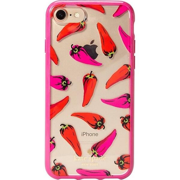 Kate Spade New York Hot Pepper iPhone 7 / 8 Case, Clear Multi, iPhone 7