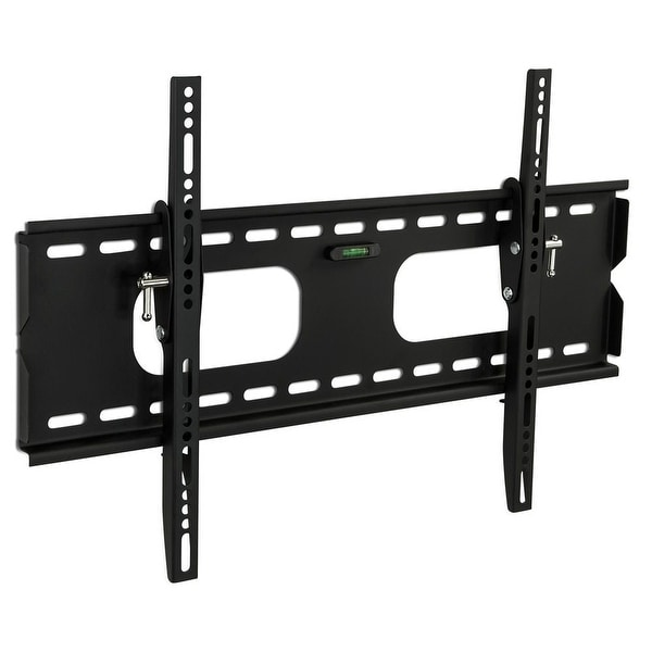 Shop mount it low profile tilting tv wall mount bracket for 32 60 inch lcd led oled 4k or - Tv wall mount reviews ...