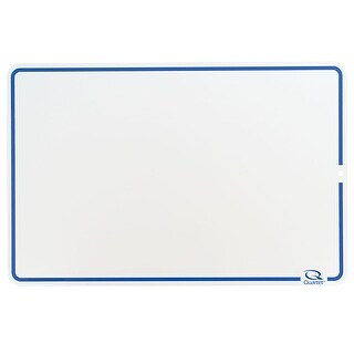 (4 Ea) Quartet Lap Boards Dry Erase Blank 12X18
