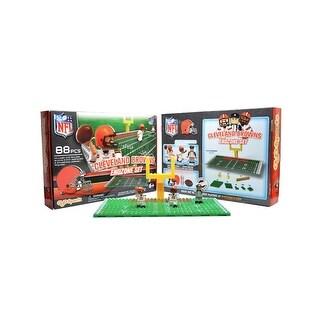 Cleveland Browns OYO Sports Mini Figure NFL Endzone Set - Multi