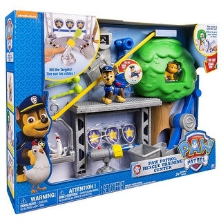 Paw Patrol Rescue Training Center Playset - multi