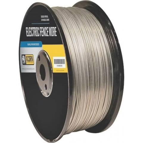 Acorn EFW1414 Galvanized Electric Fence Wire, 14 Gauge