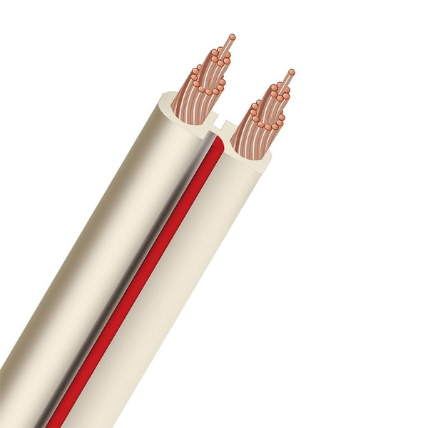 AudioQuest X2 Unterminated White Speaker Cable - 100 ft. (30.48m)