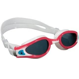 Aqua Sphere Women's Kaiman EXO Smoke Lens Swim Goggles - Coral/White
