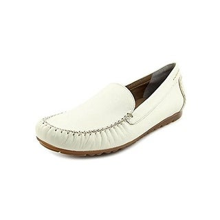Rose Petals by Walking Cradles Womens Egale Leather Moc-Toe Loafers