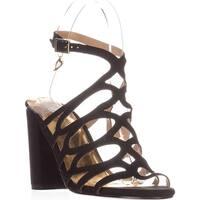 Thalia TS35 Kiarah Block-Heel Dress Sandals - Black - 7