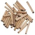 Natural Wood Bamboo Sleek Tube Beads 21mm x 3.5mm (100 loose beads) - Thumbnail 0