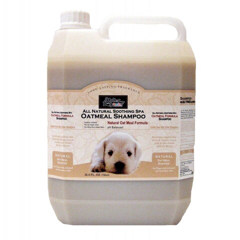 Alpha Dog Series Shampoo & Conditioner - Oatmeal Formula - (4L)