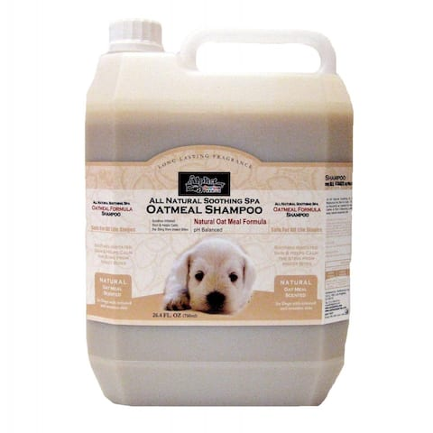 Alpha Dog Series Shampoo & Conditioner - Oatmeal Formula - (4L)