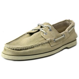 Sperry Top Sider A/O 2 Eye SW Canvas Chino Moc Toe Canvas Boat Shoe