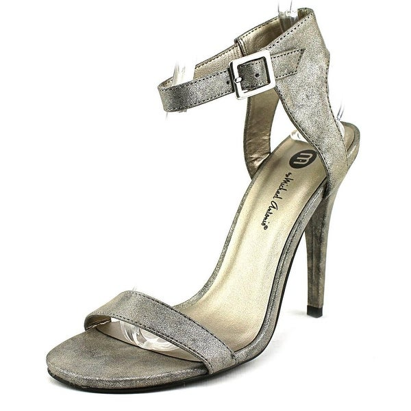 Michael Antonio Jarrod Women  Open Toe Synthetic Gray Sandals