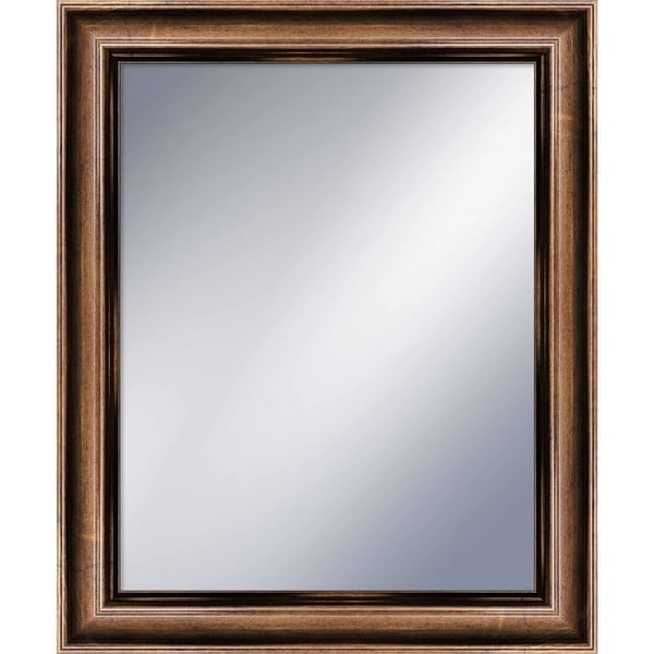 PTM Images 5-1210 34-4/5 Inch x 28-3/4 Inch Rectangular Framed Mirror - N/A