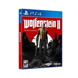 Bethesda 17242 Wolfenstein Ii: The New Colossus Video Game For Playstation 4