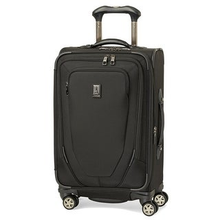 "Travelpro Crew 10 - Black 21"" Nylon Fabric Expandable Spinner w/ Tapered Expansion Capability"