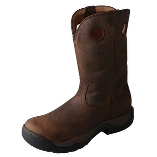 Twisted X Western Boots Mens All Around Waterproof Taupe MABW001
