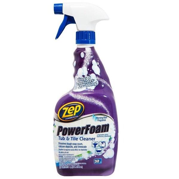 Zep ZUPFTT32 Power Foam Tub & Tile Cleaner, 32 Oz