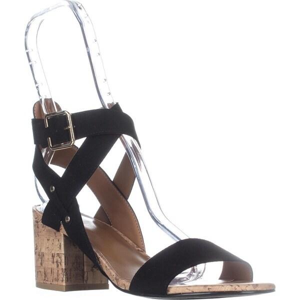 Indigo Rd. Elea Heeled Ankle Strap Sandals, Black