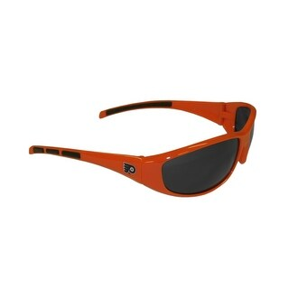 Philadelphia Flyers NHL 3 Dot Wrap Sunglasses