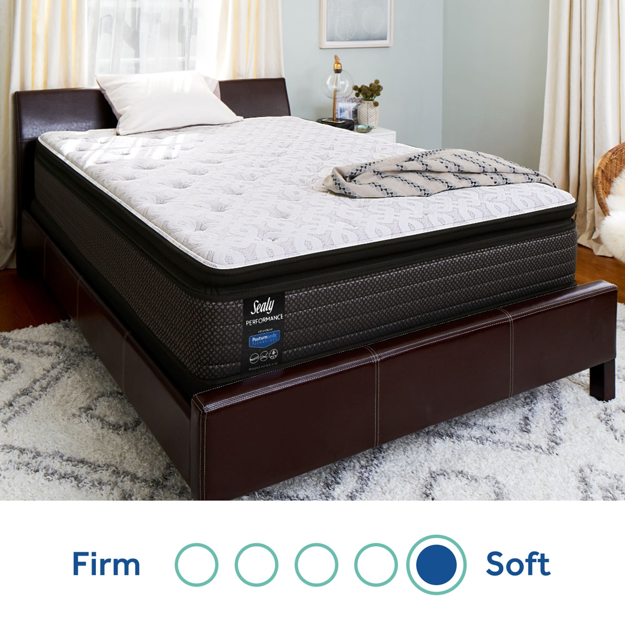 Sealy Response Performance 14 Inch Plush Pillow Top Mattress On Sale Overstock 21659464